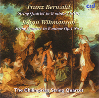 BERWALD / WIKMANSON - The Chilingirian String Quartet