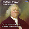 WILLIAM BOYCE : Select Anthems