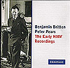 Britten and Pears: The Early HMV Recordings