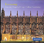 Evensong from Kings College Cambridge