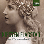 FLAGSTAD: VOLUME I: The Early Recordings 1914-1941: 3 CD SET