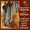 BACH: Organ of Saint Maximin